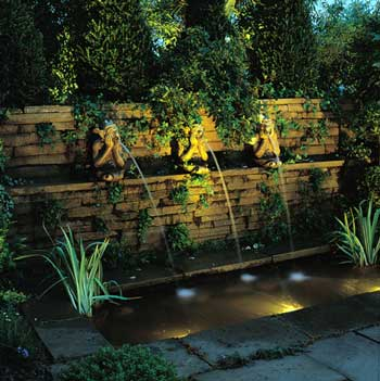 Outdoor garden lighting electrician south east melbourne garden lighting aloadofball Images